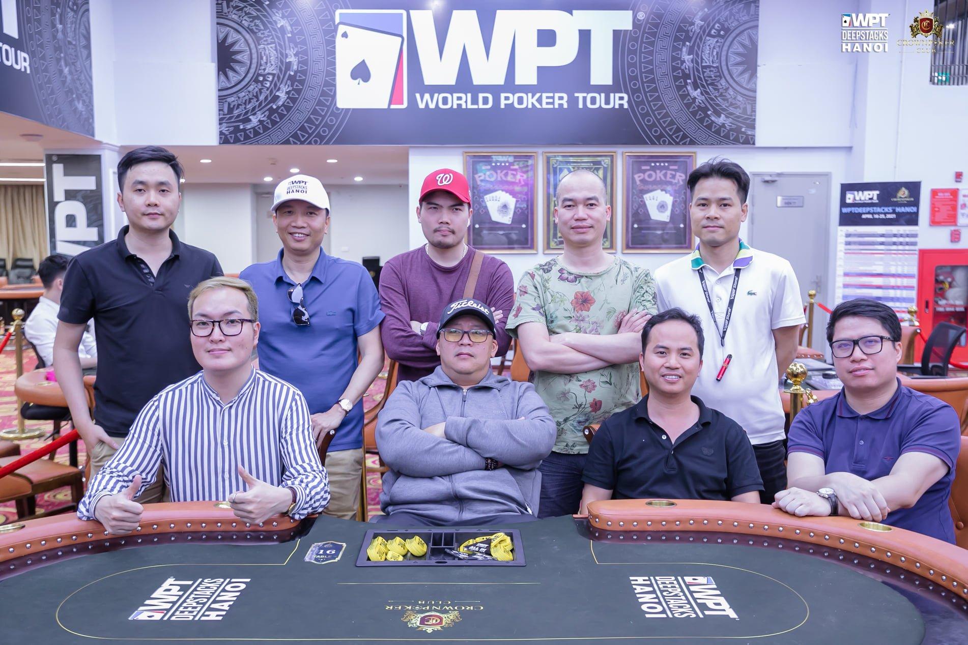 WPTDeepStacks Hanoi: Main Event final 9 players; HR draws 61 entries, pot nears VNđ 2BN, reg still open; final day Megastack Finale VNđ 300M gtd
