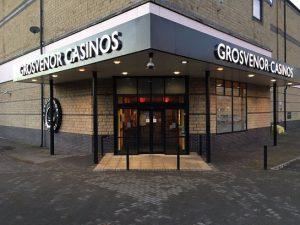 Grosvenor Casino Huddersfield entrance