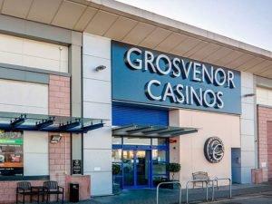 Grosvenor Casino Stoke on Trent entrance