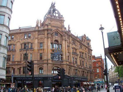 The Hippodrome Casino London building