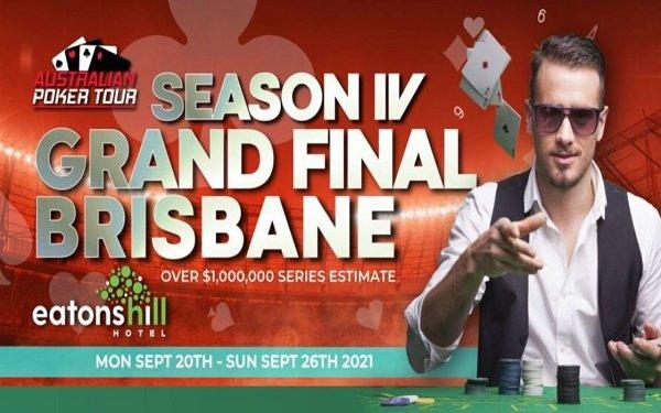 Australian Poker Tour Brisbane Grand Final 2021 Schedule
